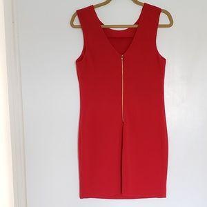 Forever 21 Red Sheath Mini Dress
